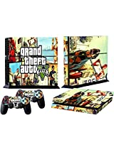 Mod Freakz Ps4 Console And Controller Vinyl Skin Decal Auto Bakini Theft