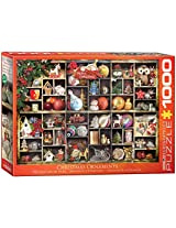 Euro Graphics Christmas Ornaments Puzzle (1000 Piece)