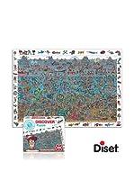 Diset Puzzle Discover Wally 500 Piezas