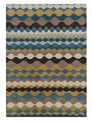 Bunker Hill Rugs Gagan Handmade Rug, Multi, 5' x 7'