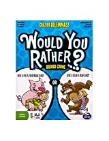 Spin Master Games - Would You Rather - Crazier Dilemmas Board Game