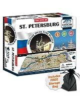 4D Saint Petersburg, Russia Cityscape Time Puzzle w/Free Storage Bag