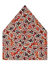 Tiekart Printed Silk Pocket Square (Ps379_Multi)