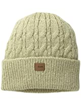 Coal Men's Longview Cable-Knit Beanie, Khaki, One Size