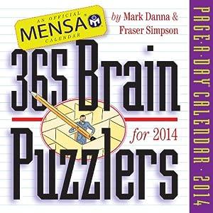 Mensa 365 Brain Puzzlers 2014 Calendar