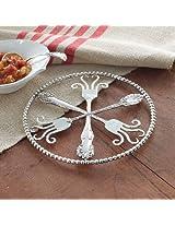 Mud Pie Fork Trivet - Vintage Style