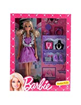 Barbie Boutique Stylist Doll, Multi Color
