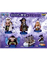 One Piece World Collectable Figures History Of Whitebeard Complete Set