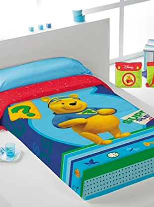Disney Home Copriletto Winnie The Pooh (Multicolore)
