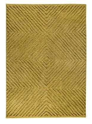 MAT the Basics Buffalo Hand-Tufted Shag Rug (Green)
