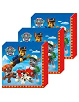 Paw Patrol Party Lunch Napkins 48 Pieces