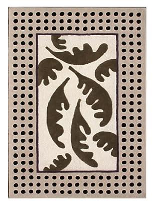 Pompeii for XpressWeave Aleph Way Rug (Black/White/Grey)