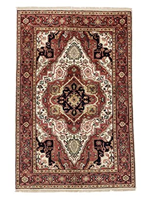 eCarpet Gallery One-of-a-Kind Hand-Knotted Serapi Heritage Rug, Dark Red, 5' 11
