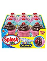 Ja-Ru 24123 Splash Fun Squirt Cupcake Pack Party Favor Bundle Pack Novelty