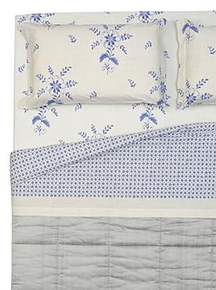 Cartoons Home Completo Letto Ceramica Geometrico (beige/blu)