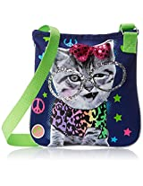 Accessories 22 Girls' Cool Kitty Photo Real Crossbody Bag, Multi, One Size