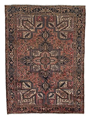Rug Republic One Of A Kind Persian Heriz-Vintage Rug, Rust/Red/Brown/Ivory/Multi, 7' 8