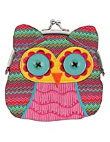 Stephen Joseph Signature Kiss Lock Purse, Owl