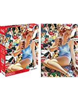Aquarius Coca Cola Girl Jigsaw Puzzle (1500-Piece)