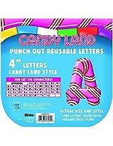 Eureka Candy Land Pepper Stripes Deco (Set Of 6)