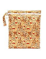 Bumkins Disney Baby Zippered Wet Bag, Winnie The Pooh Woods