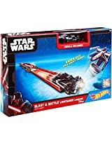 Hot Wheels Star Wars Blast & Battle Lightsaber Launcher [Darth Vader]