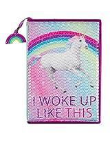 """""""I Woke Up Like This"""" Unicorn Journal"""