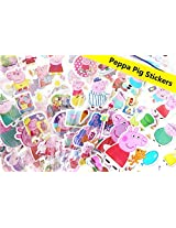 12 Sheets Love Peppa Pig 3 D Puffy Stickers