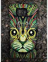 GVC 2015 SHINES IN DARK LIMITED EDITION 3D cute Cartoon Animal world CAT Phone Case Cover For Samsung Galaxy Alpha 4G LTE G850 : CAT