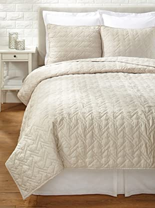 Blissliving Home Tate Coverlet Set (Putty)