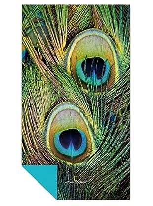 National Geographic Toalla Fantasia (Verde / Celeste)