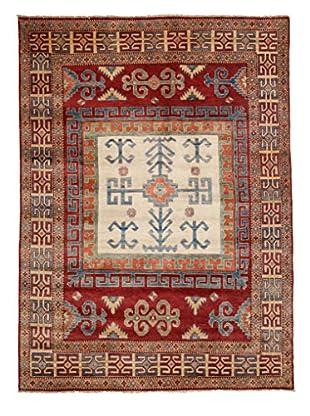 Darya Rugs Kazak Oriental Rug, Red, 5' 8