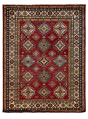 Darya Rugs Shirvan Oriental Rug, Red, 6' 5