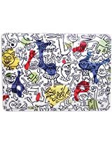 Vilac Baby Shape and Color Recognition Toy Keith Haring Tin Painting Box, Large
