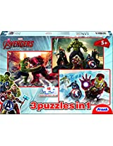 Frank Avengers - Age of Ultron 3-in-1, Multi Color (48 Piece)