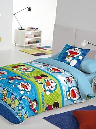 Euromoda Juego De Funda Nórdica Doraemon & Nobita (Multicolor)