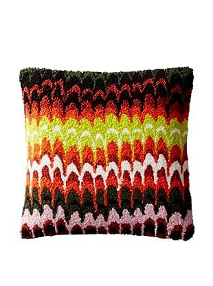 Kate Spade Saturday Marbled Stripe Carpet Pillow Cover