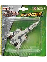 Maisto SR-71 Blackbird Aeroplane Die Cast Toy Model (White & Grey)