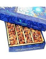 Ghasitaram Gifts Dryfruits Honey Coated ROASTED Almonds 400 gms
