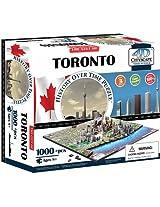 4D CityScape INC Toronto Time Puzzle