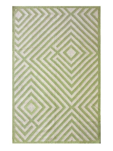 NuLOOM Diamond Maze Rug (Green)