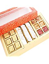 Ghasitaram Gifts Orange hamper Sweet Box