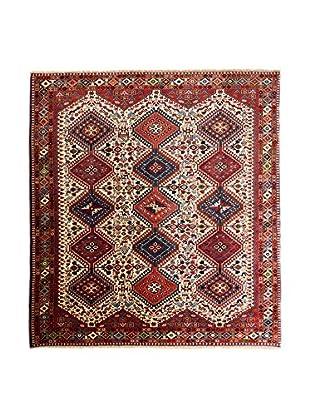 RugSense Alfombra Persian Yalameh Rojo/Beige/Azul 238 x 197 cm