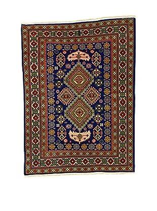 L'Eden del Tappeto Teppich Azerbaijan braun/dunkelblau 163t x t121 cm