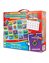The Learning Journey Puzzle Doubles! Let's Learn Transportation, Multi Color