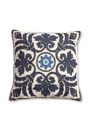 Barclay Butera Salé Throw Pillow, Blue, 16