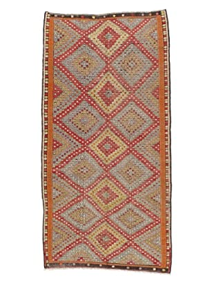 Rug Republic One Of A Kind Turkish Tribal Hand Woven Flat Weave Rug, Multi, 6' 3