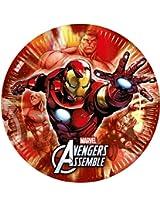 Avengers Multi Heroes-Paper Plates