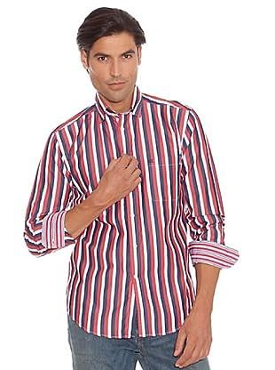 PEDRO DEL HIERRO Camisa Rayas (Rojo)