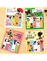 Memo-It cute girl sticky notes Set of 6
